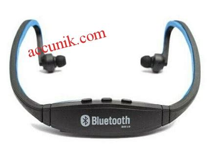 Jual Headset Sport Mp3 jual headset bluetooth sport bs19 non microsd headphone murah jual stungun kamera pengintai