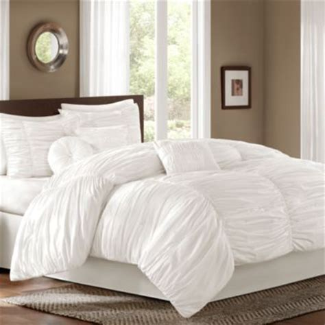 fluffy bed comforters buy white fluffy soft bedding from bed bath beyond
