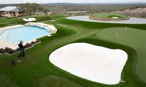 Backyard Putting Green Designs Dave Pelz Amazing Back Yard Golf Course Tour Chatter