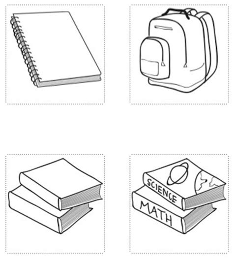 coloring pages of school stuff school supplies coloring pages kids world