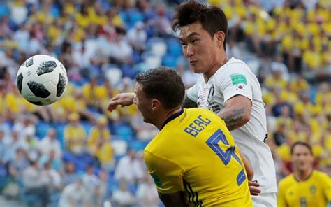 sweden vs south korea sweden and south korea draw blank in scrappy half