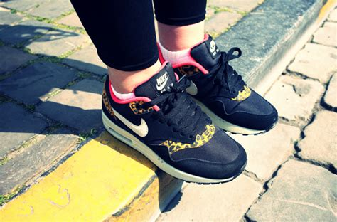Airmax One Leopard nike air max 1 leopard uglymely sneakers