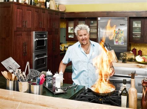 fieri outdoor kitchen layout fieri net worth salary house car