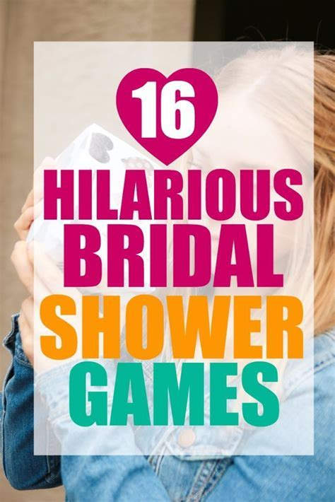 16 Hilarious Bridal Shower Games   Bridal shower games and