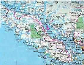 vancouver island road map vancouver island canada mappery
