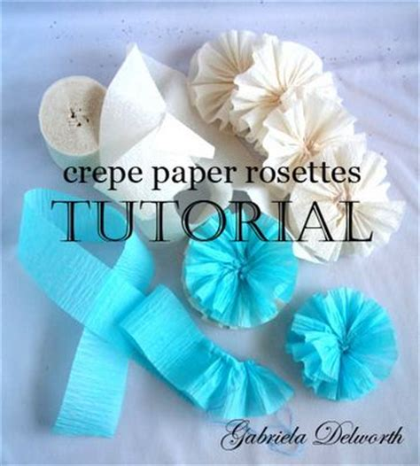 How To Make Crepe Paper Rosettes - gift wrapping 5 years and ideas on