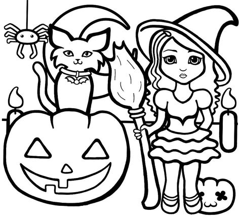 free easy printable halloween coloring pages affordable halloween coloring page hard halloween coloring