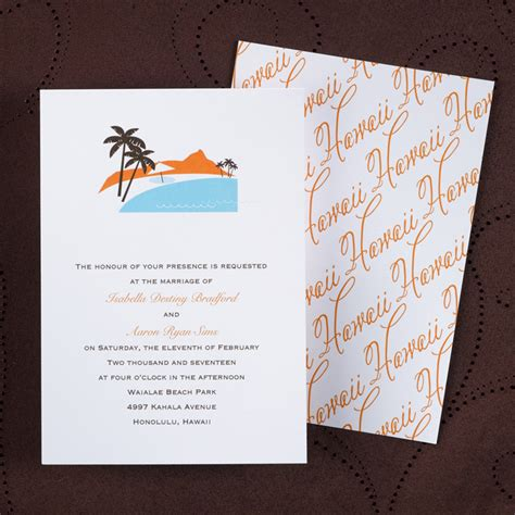 Hawaiian Theme Wedding Invitation To Email by Floral Rustic Vintage Wedding Invitations Flamingo