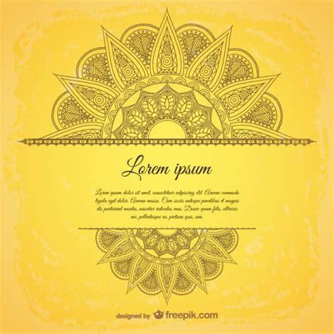 arabic pattern psd arabic ornamental template vector free download