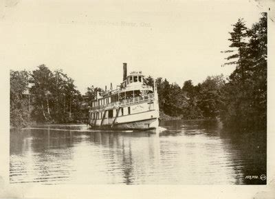 steamboat lake cing steamboat rideau king lakes and islands times past
