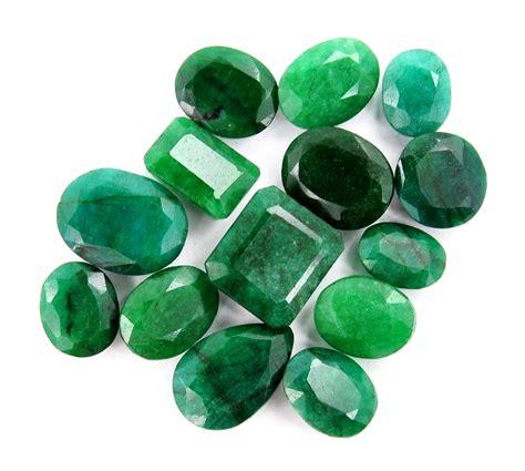 buy 255 00 ct certified emerald gemstone lot