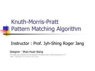 pattern matching algorithm in python ppt algorithm fundamentals powerpoint presentation id