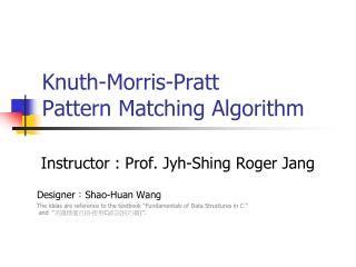 pattern matching algorithm ppt ppt algorithm fundamentals powerpoint presentation id