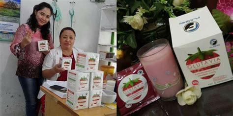 Glutavia Strawberry Drink Untuk Program cara minum glutavia buat program glutavia flashin