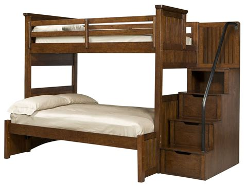 bunk bedroom set dawsons ridge youth storage steps bunk bedroom set from