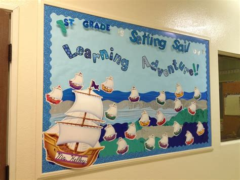 nautical themed names quot 1st grade is setting sail on a learning adventure quot the
