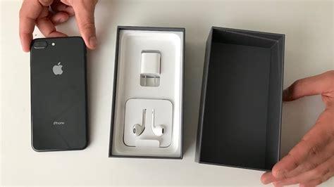 Iphone 8 Plus 64gb Grey Garansi Internasional iphone 8 plus unboxing space gray
