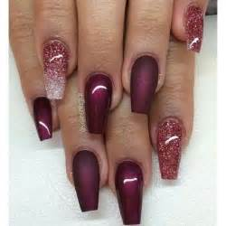 maroon nail color best 25 maroon nails ideas on fall nails