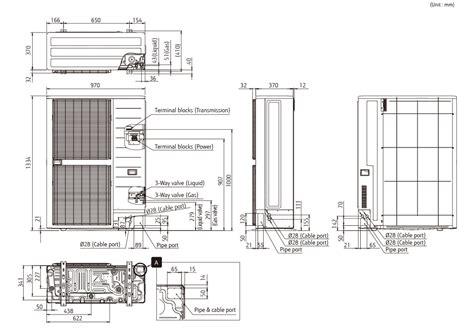 Ac Vrf Fujitsu airstage vrf systems j iii series ajh054lelah 3phase