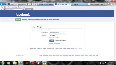 facebook log on x app for android phones wksiew