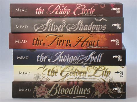 bloodlines novels by richelle mead books 1 6 in series