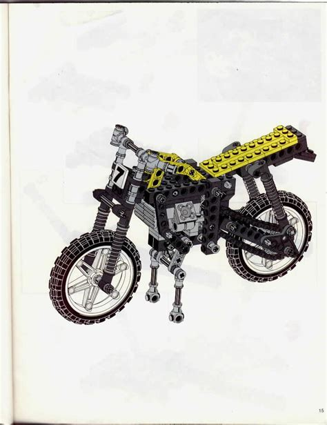 technic motocross bike dirt bike instructions 8838 technic