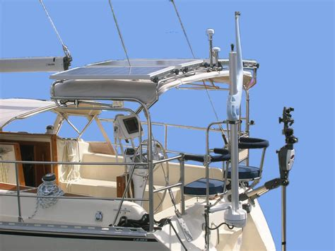 sailboat stern rail caliber smart stern rail tm