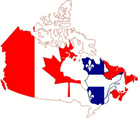 speaking countries in canada where do they speak in canada map