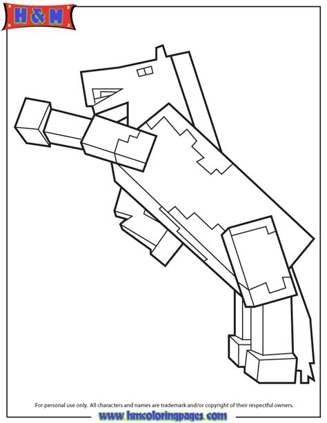 minecraft coloring pages foldable minecraft horse coloring page minecraft coloring pages