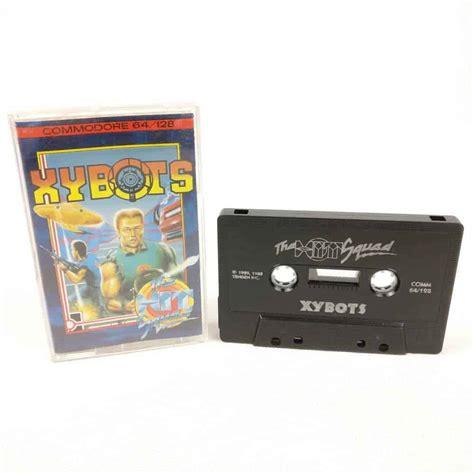 commodore 64 cassette xybots c64 cassette