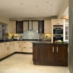 Two tone kitchen kitchen design decorating ideas housetohome co