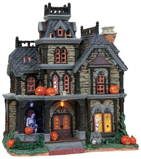lemax halloween houses 206 best halloween village images on pinterest halloween town halloween village and