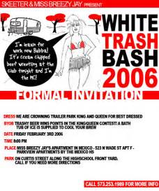 white trash bash 2006 by adamcole on deviantart