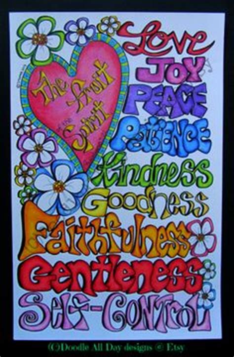 b fruit x dingbat the fruit of the spirit coloring page in three sizes 8