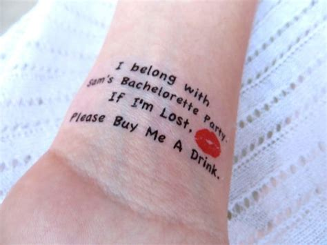 bachelorette tattoos 20 bachelorette sorority temporary