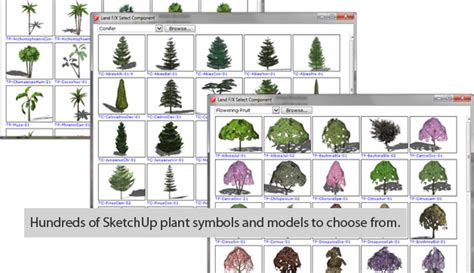 sketchup layout scrapbook architectural symbols land f x sketchup extension warehouse