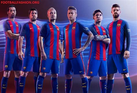 Nike F C Barcelona fc barcelona 2016 17 nike home kit football fashion org