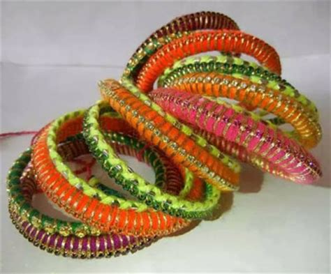 Handmade Bangles Ideas - handmade bangles eid wear designs collection 2015 1