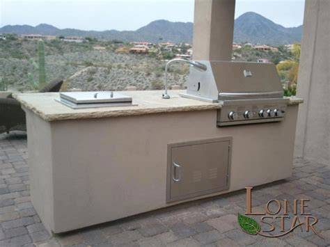 Flagstone Countertops by Barbecue With Autumn Blend Flagstone Countertop In
