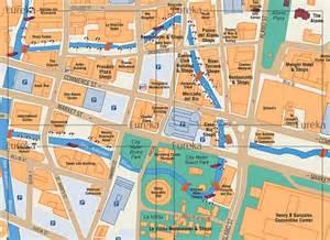 san antonio riverwalk visitor map 169 eureka cartography
