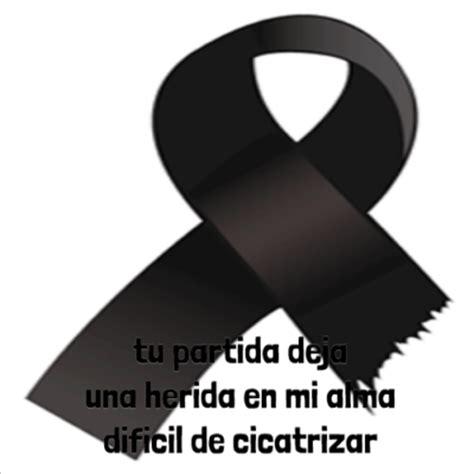 imagenes de luto a mi padre rosas negras mo 241 os y lazos con mensajes y frases de