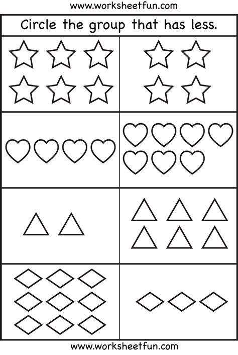 more or less worksheets comparison worksheets more or less 4 worksheets free printable worksheets worksheetfun