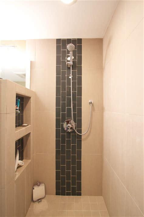 Secret Shower by Master Bath Redo Bathroom San Diego