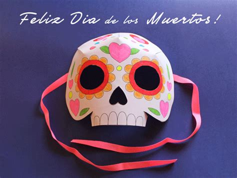 day of the dead skull mask template printable activities learn and play day of the dead