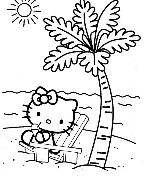 Free Printable Beach Coloring Pages For Kids Free Coloring Pages For Children