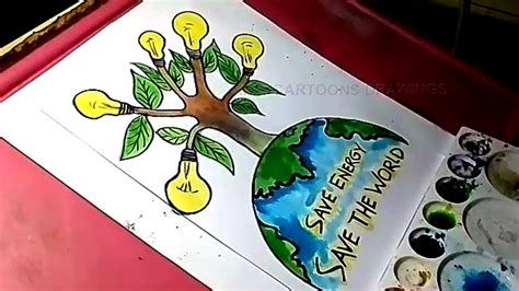 doodle how to make energy how to draw save energy and save the world drawing for