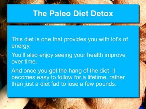 Paleo Diet Detox Period by The Paleo Diet Detox