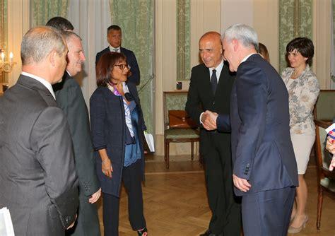 ministero degli interni it viminale incontro ministro minniti con il ministro