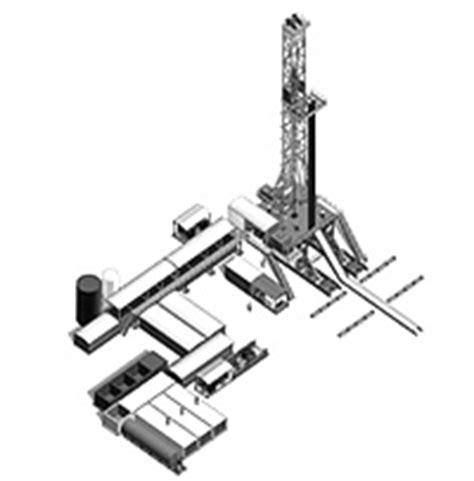 land rig layout nabors premium assets