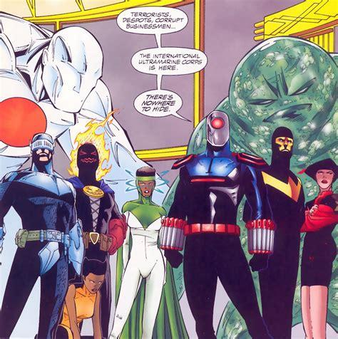 Kaos Justice League Superman Batman The Flash Green Lantern image ultramarines jpg dc database fandom powered by
